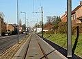 Travaux de la branche vers Vieux-Condé de la ligne B du tramway de Valenciennes en décembre 2013 (277).JPG