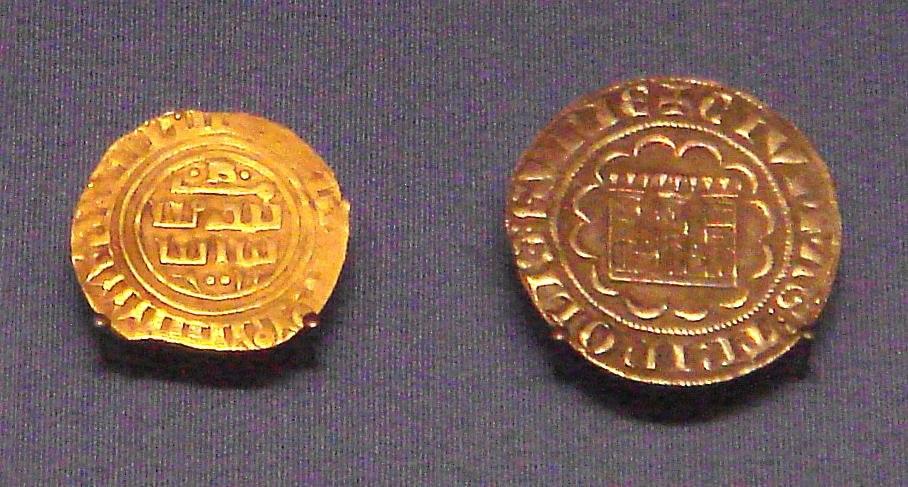 Tripoli gold bezant in Arabic 1270 1300 Tripoli silver gros 1275 1287