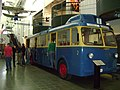 Trolleybus in a museum in Tampere.jpg