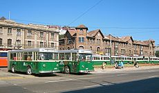 Trolleybuses in Valparaiso.JPG