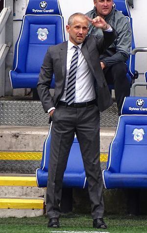 Paul Trollope - Trollope with Cardiff City in 2016