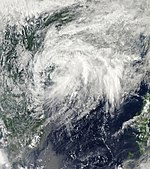 Tropical Depression 14W Oct 7 2010.jpg