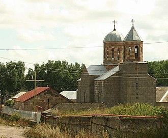 Tsalka - Image: Tsalka. A Greek church (Photo A. Muhranoff)