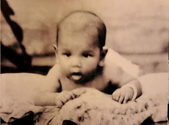 Ja'afar of Negeri Sembilan - Tuanku Jaafar ibni Almarhum Tuanku Abdul Rahman at the age of 6 months, January 1923. Unknown photographer. The Tuanku Ja'afar Royal Gallery, Seremban