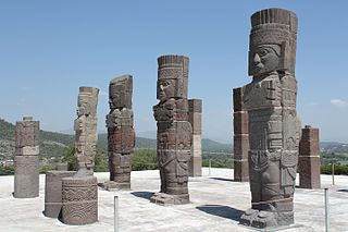 Atlantean figures at Tula