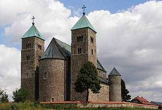 Romanesque architecture - Tum Collegiate Church, Poland