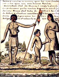 Tunica people group of Native American tribes in the Mississippi River Valley, United States