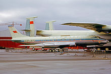 Tupolev Tu-124V CCCP-45072 of Aeroflot at the 1965 Paris Air Show