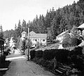 Tusnádfürdő 1941, Fősétány (Aleea Sfânta Ana). Fortepan 6051.jpg