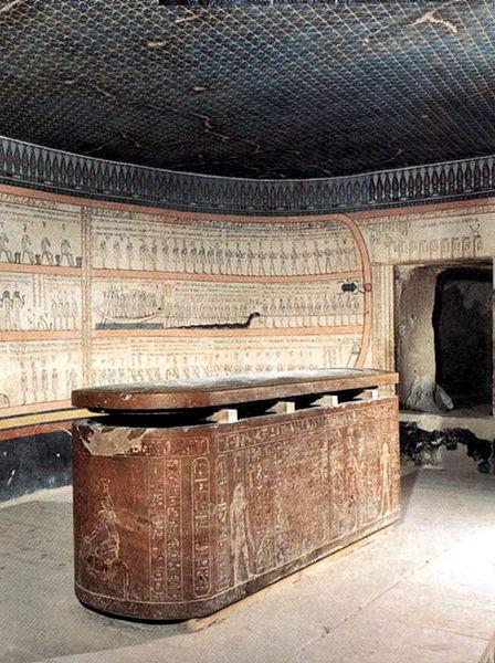 Totmes III KV34 Grobowiec