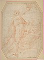 Two Nudes Seen from Below (recto); Male Figure with Upraised Arm (verso) MET DP811479.jpg