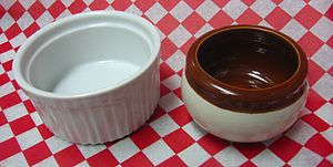 Ramekin - Two styles of ramekin