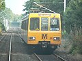 Tyne and Wear Metro train 4081 betweeen Hadrian Road and Howdon.jpg