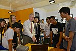 U.S. Ambassador Ted Osius visits the Maker Innovation Space located in University of Danang (36970342426).jpg
