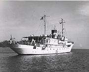 U.S. National Research Foundation Research Vessel ANTON BRUUN