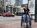 UNAwheel Mini Active wheelchair power add-on in Los Angeles 2.jpg