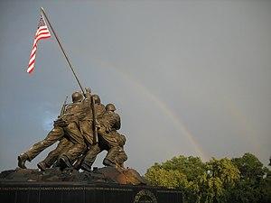Felix de Weldon - Image: USMC War Memorial 2008 06 23
