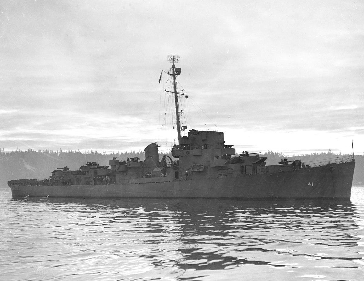 World Class Motors >> USS Brackett (DE-41) - Wikipedia