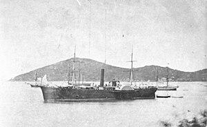 USS De Soto (1859) - Image: USS De Soto (1861 1868)