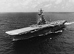 USS Hornet (CVS-12) underway in the Gulf of Tonkin on 5 September 1967.jpg