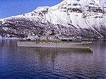 USS Nassau (LHA-4) off Norway on 29 August 1986 (6429219).jpg