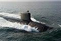 USS North Dakota (SSN-784) at sea in August 2014.JPG