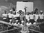 USS Wichita (CA-45) R-division rowing team in 1945.jpg