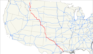 U.S. Route 287 highway in the United States