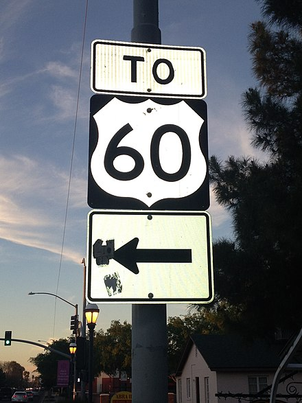 U.S. Route 60 in Arizona - Wikiwand