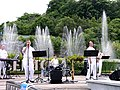 US Navy 050611-N-4104L-003 Seventh Fleet Band Orient Express performing at Singapore's Sentosa Island Musical Fountain - 20050611.jpg
