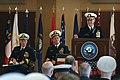US Navy 051123-N-2383B-070 Vice Adm. Gerry Hoewing looks back on his distinguished naval career while stepping down as the Navy's 53rd Chief of Naval Personnel.jpg
