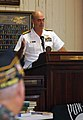 US Navy 091008-N-1928O-111 Rear Adm. Bill Goodwin, Assistant Chief of Naval Operations for the Next Generation Enterprise Network (NGEN), speaks at the American Legion War Museum.jpg