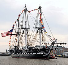 Image illustrative de l'article USS Constitution
