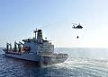 US Navy 110318-N-0569K-033 USNS Henry J. Kaiser (T-AO 187) approaches USS Enterprise (CVN 65) to conduct a replenishment at sea.jpg