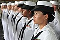 US Navy 111207-N-KD852-078 Sailors aboard the amphibious assault ship USS Makin Island (LHD 8) stand in formation during a commemoration ceremony i.jpg