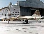 US Navy Northrop DT-38A Talon at NAS Miramar in 1974.jpg