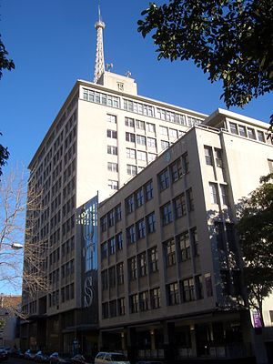 UTS Fairfax building, Ultimo