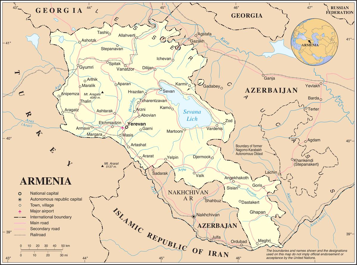 Liste Der Stadte In Armenien Wikipedia