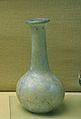 Ungüentari de vidre bufat, necròpolis del Muntanyar, museu Soler Blasco, Xàbia.JPG