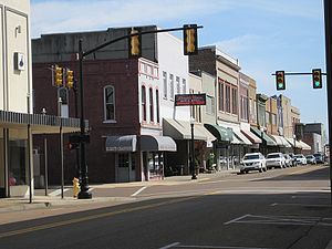Union City, Tennessee - A main street in Union City.
