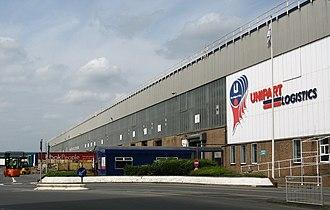 Unipart - Unipart Logistics warehouse, Cowley.