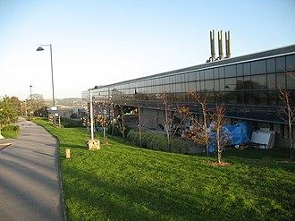 Penryn Campus - Daphne du Maurier Building until 2011(now site of The Exchange extension)