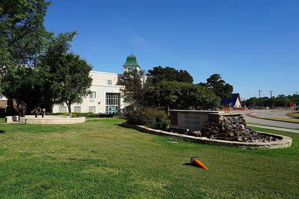 University of North Texas September 2015 64 (Mozart Square)