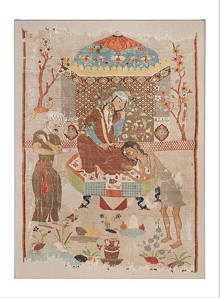 silk tapestry - image 3