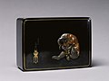 Unno Moritoshi - Covered Box with Monkey Posing as a Collector - Walters 5393 - Top.jpg