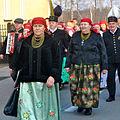Uroczystość topienia Marzanny, Miasteczko Śląskie 2015 03.jpg