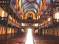 Ustaritz (Pyr-Atl., Fr) church interior with 2 balconies.jpg