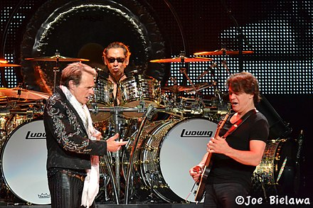 Roth and the Van Halen brothers touring in 2012 VH.DSC 0232.5 19 12 (7235651216).jpg