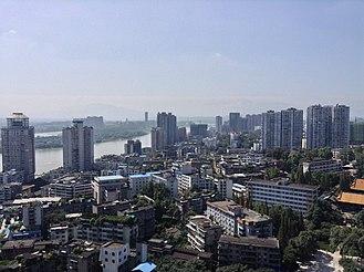 Leshan - A view of Leshan