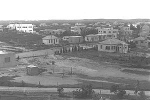 VIEW OF NETANYA. מראה כללי של היישוב נתניה.D25-059